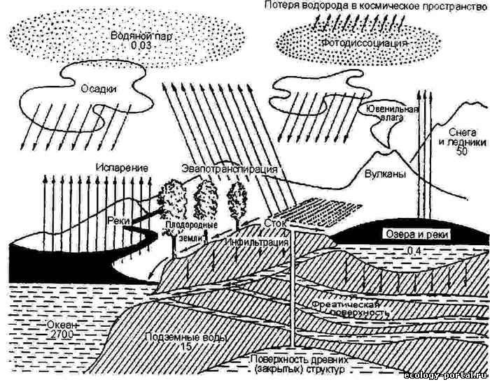 цикл — круговорот воды